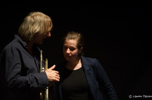 Erik Truffaz et Anna Aaron au Cully Jazz  ©Laurent Pasche